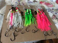 4-FLUKE & seabass RIGS SUMMER FLOUNDER Will out fish them all for sure!!
