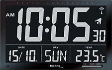 Technoline WS 8007 - Orologio Digitale radiocontrollato con Jumbo LCD
