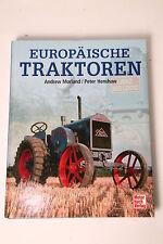 Livre Européen Tracteurs Andrew Morland / Peter Henshaw neuf (7061)