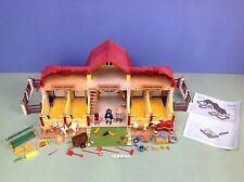 (O5221) playmobil grand poney ranch ref 5221