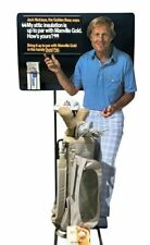 Vintage Jack Nicklaus Life Size Cardboard Cutout Manville Corp. 80s Very Rare