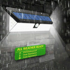 118LED Solar Power Light Motion Sensor Security Outdoor Garden Yard Wall Lamp