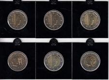 Luxemburg 2 Euro 2002 bis 2005 - Lot Kursmünzen und Gedenkmünzen bankfrisch