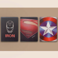 Avengers&Iron Man Iron Diamond Pattern Cover Case For iPad Mini 1 to Pro 2020