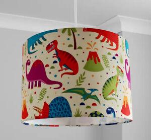 Children/'s dinosaur lampshade ideal for matching wallpaper /& frieze