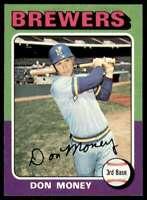 1975 Topps Don Money Milwaukee Brewers #175