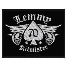 Lemmy Kilmister 70 zum Aufnähen Tuch Aufnäher 100mm x 50mm (Ro)
