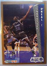 1992-93 Fleer SHAQUILLE O'NEAL Rookie RC #401, SHAQ HOF Orlando Magic