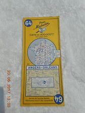 PNEU MICHELIN MAP   # 64    ANGERS - ORLEANS