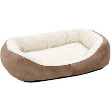 New listing Midwest Ultra-Soft Fleece Dog Cuddle Bed, Medium, Brown