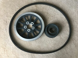 2016 HARLEY DAVIDSON DYNA OEM FRONT AND REAR PULLEY AND WITH BELT