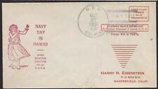 1935 USS Oglala Pearl Harbor Cancel, at Pearl Harbor