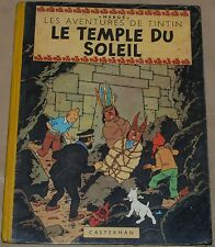 TINTIN / Le temple du soleil / EO / B3 - 1949 / BE+