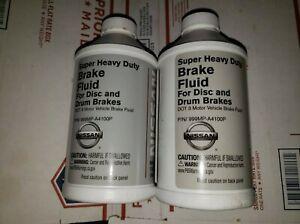 2 x Bottle GENUINE Infiniti & Nissan BRAKE FLUID 12 fl. oz OEM