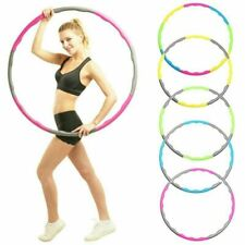 Fitness Hula Hoop Detachable Home Exercise Workout Lose Weight Adult Hoola Gym