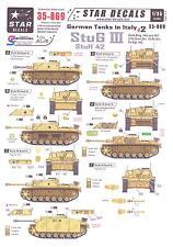 Star Decals 1/35 GERMAN TANKS IN ITALY Part 2 STURMGESCHUTZ III