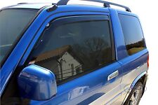 Mitsubishi Pajero Pinin 3 DOOR 1999-2007 Front wind deflectors 2pc TINTED HEKO
