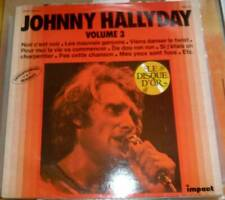 33 tour JOHNNY HALLYDAY 6886 158 impact disque d'or vol 3 label jaune 4 photos