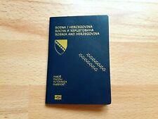 Bosnia and Herzegovina, Collectible Biometric passport, Cancelled