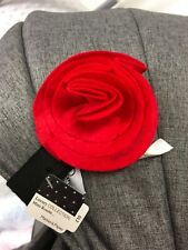 MAMAS AND PAPAS RED ROSETTE MAGNETIC PRAM BOW BNWT