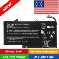 NP03XL for HP ENVY X360 15-U011DX Battery 43WH 761230-005 HSTNN-LB6L PWR