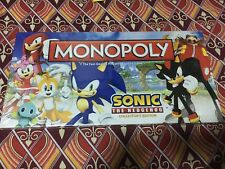 Monopoly Sonic The Hedgehog Collector's Edition Very Rare
