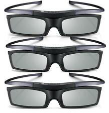 Lot of 3 New Samsung 4K HD UHD SUHD 3D Active TV Glasses SSG-5150GB SSG-5100GB