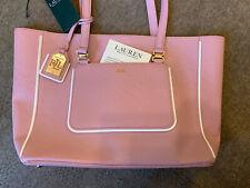 Neues AngebotBnwt Lauren Ralph Lauren Tee Rose Pink Dorset Shopper Beuteltasche Tasche & Clutch Geldbörse