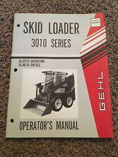 Gehl 3010 Series Skid Loader Operator's Manual