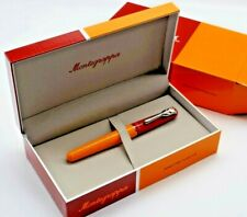 More details for montegrappa brand new tulip for team fox solidarity rollerball pen bnwt boxed