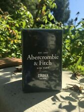 One Sealed New Abercrombie & Fitch Colden Eau De Cologne Spray 30 ml EDT A&F