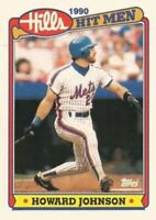 1990 Topps Hills Hit Men Baseball #33 Howard Johnson New York Mets