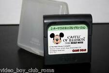 CASTLE OF ILLUSION CARTUCCIA USATA SEGA GAME GEAR IN VERSIONE INGLESE RTO 31700
