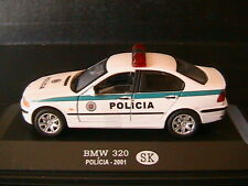 BMW 320I POLICIA 2001 SLOVAQUIE OLIEX 1/43 SLOVAQUIA POLICE SLOVAKIA