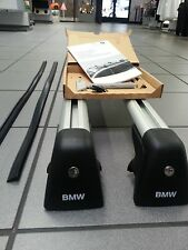 BMW OEM BASE SUPPORT ROOF RACK CROSS BARS 2009-2015 F25 X3 WITH LOCK