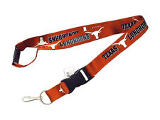 Texas Longhorns Break Away Lanyard with Double Sided Logo/Graphics