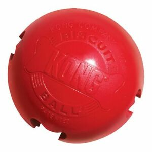 Brand New KONG-Biscuit Ball-Durable Rubber, Treat Dispensing Toy 2 Size
