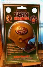 San Francisco 49ers Score Board Ceramic Football Helmet NFL Collectors Item