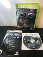 Peter Jackson's King Kong The Official Game of Movie (Xbox 360) CIB TESTED