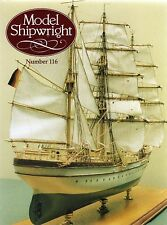 Model Shipwright No 116  (Conway 2001 1st) with Modellers Draught plan