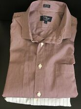 LOT of 2 J Crew Men's Shirts Long Sleeve Size Large 16 - 16 1/2 Button Up