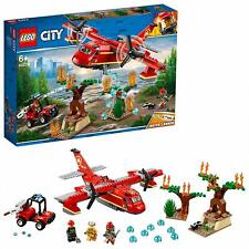 LEGO 60217 City Forest Firefighting Rescue Crew Dual Propeller Plane Toy Playset