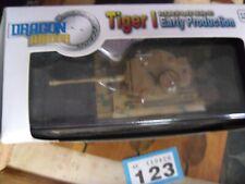 Armadura de dragón Tiger 1 (WW11) 1:72 2/s en Caja p2 ABT 504 Sicilia 1943