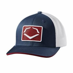 Evoshield Flex Fit Rank Hat with Embroidered Sewn-on-Patch WTV8726NRSMMD