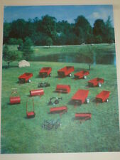 WHEEL HORSE TRACTORS TRAILERS, AERATORS, LAWN ROLLERS & IMPLEMENTS BROCHURE