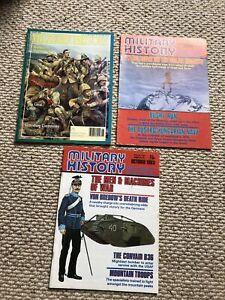 3 X Military History Magazine 1983 1990 (B10)