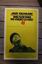 One Flew Over The Cuckoo's Nest Lobby Card Movie Poster Jack Nicholson