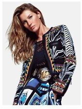 Emilio Pucci RUNWAY Collectible Rhinestone Beaded De Poudre Jacket IT40 - $12000