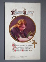 R&L Postcard: Bamforth Song Greeting, , My Rosary, Sentimental