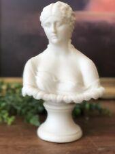 Antique Parian Clytie Sea Nymph Classical Bust